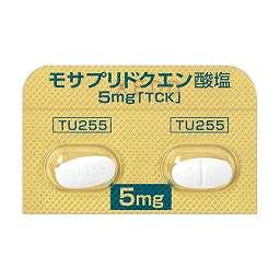 モサプリドクエン酸塩錠5mg「TCK...