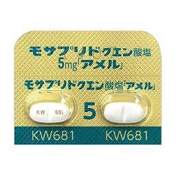 モサプリドクエン酸塩錠5mg「ア...