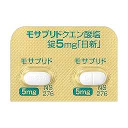 モサプリドクエン酸塩錠5mg「日...