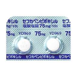 セフ カ ペン ピボキシル 塩酸 塩