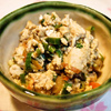 生姜たっぷりの炒り豆腐