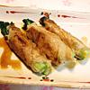 菜花の豚肉巻き