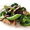 ブロッコリーと椎茸のソテー