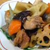 根菜と鶏肉のみそ煮