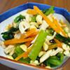 小松菜とささみのサラダ