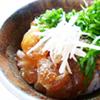 鯛の漬けと納豆の丼