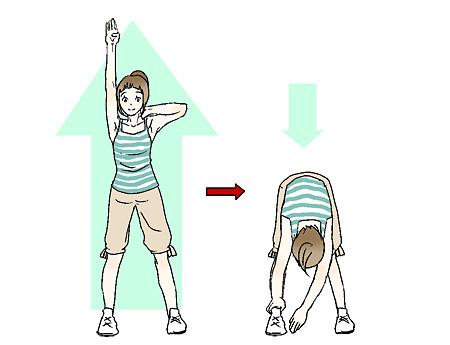 図解「肩周辺の筋肉をほぐそう! その2」